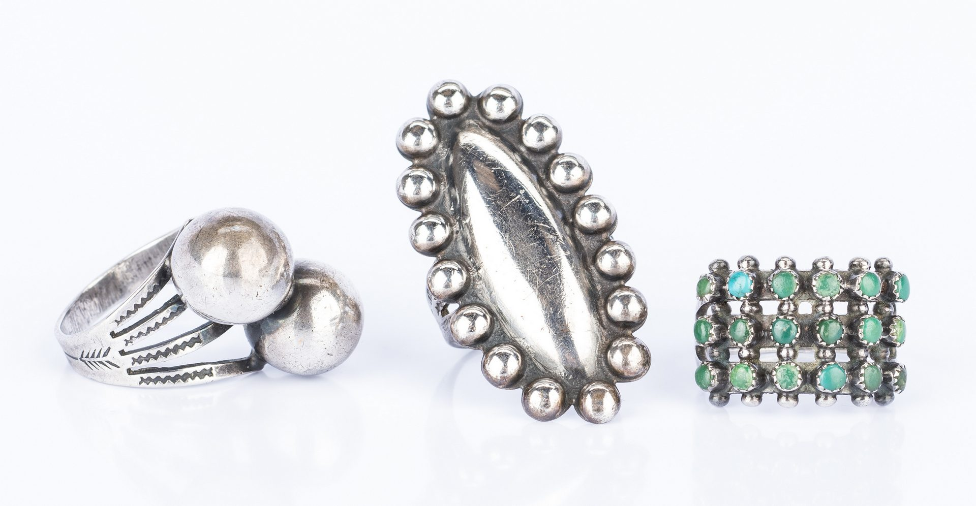 Lot 607: Group of Southwestern & other jewelry