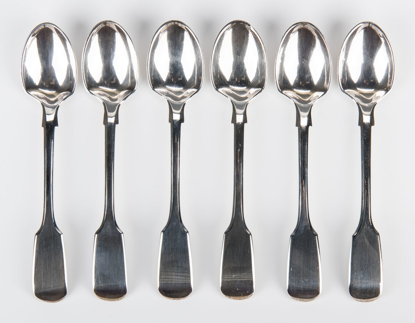 Lot 60: Edwardian Sterling Egg Cruet and Spoons