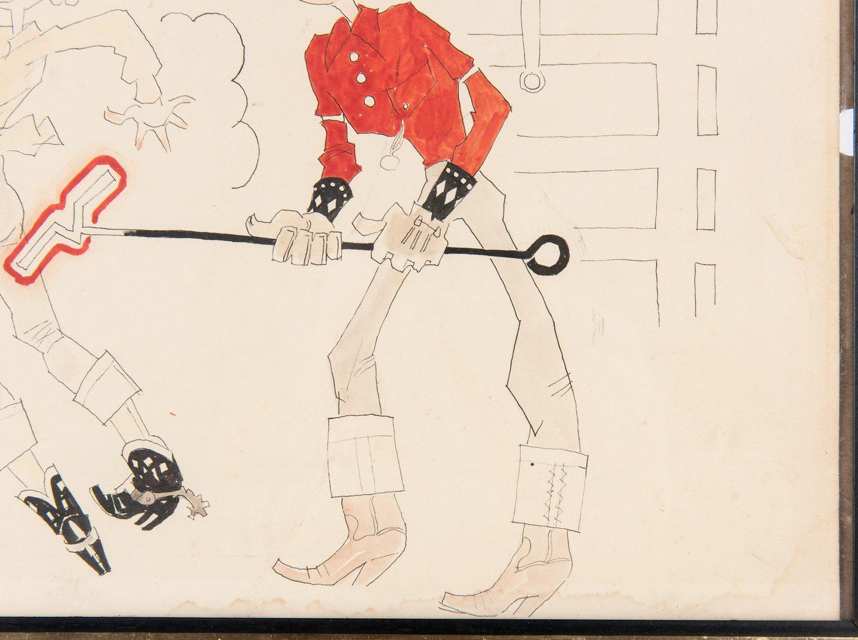 Lot 610: 2 John Held Cowboy Cartoons