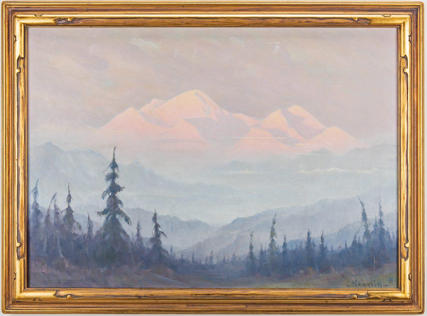 Lot 617: Magnus Heurlin OC, Alaskan Landscape