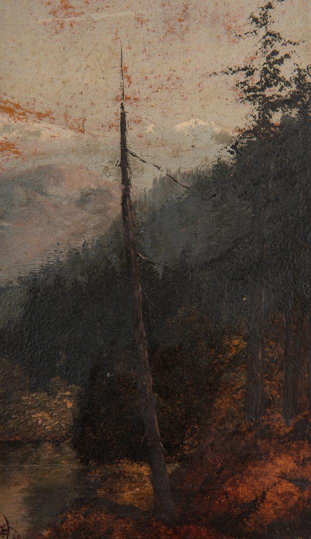Lot 622: William S. Parrott O/B, Mt. Hood, OR Landscape