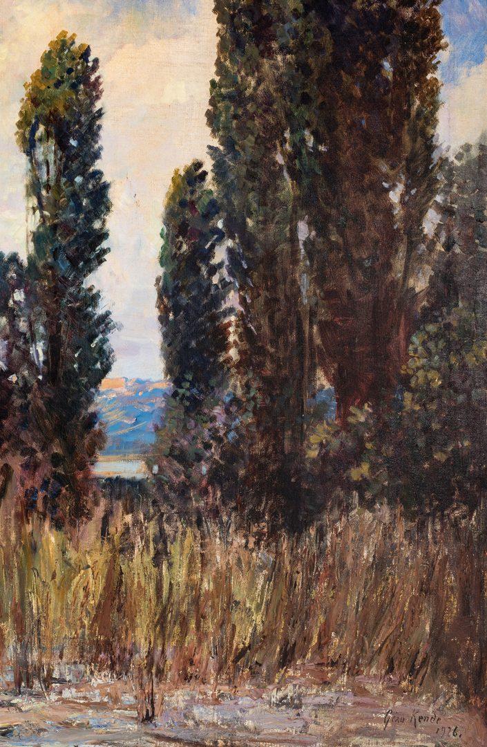 Lot 627: Geza Kende O/C, California Landscape