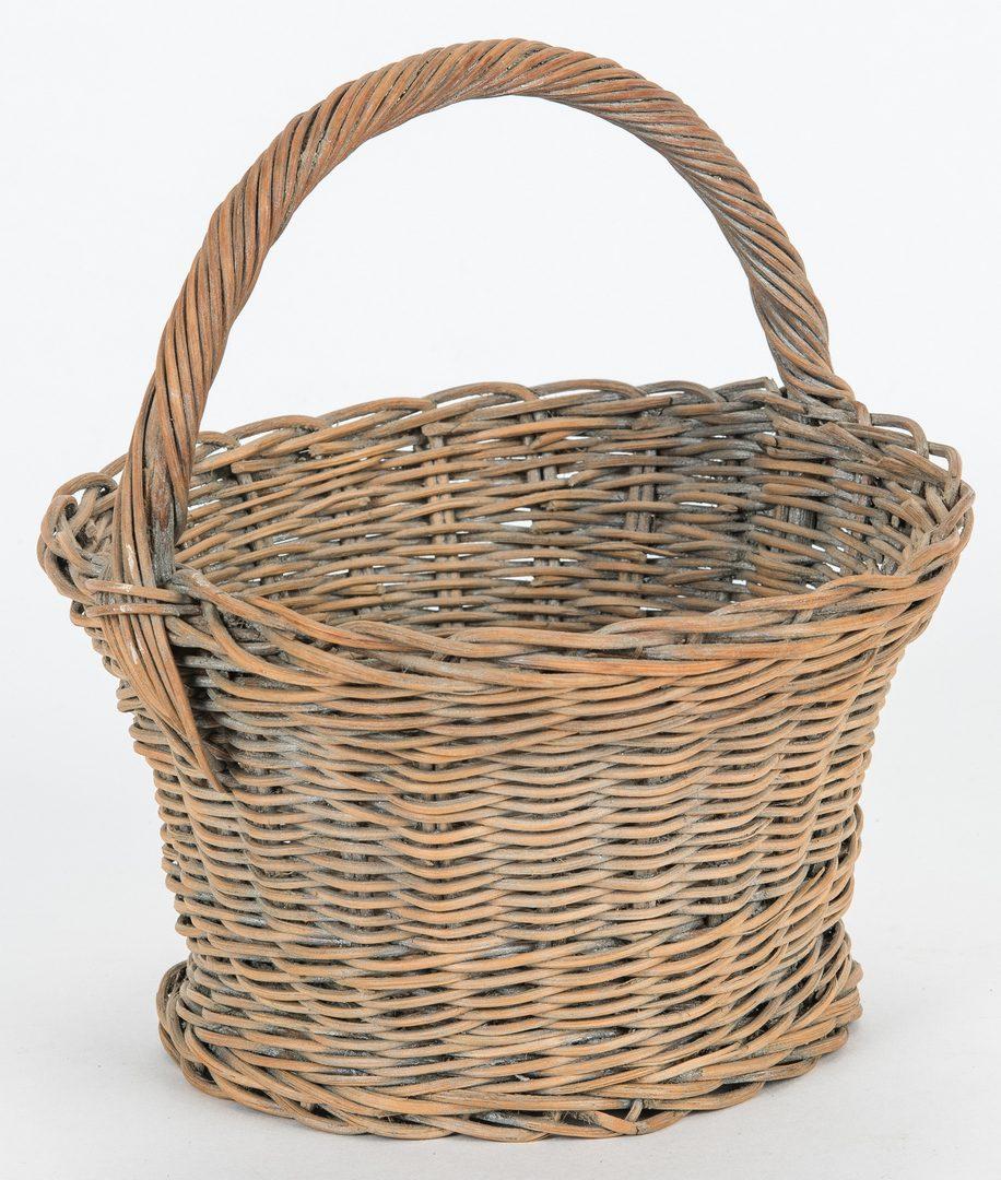 Lot 632: 4 East TN Baskets, incl. Linda Whaley