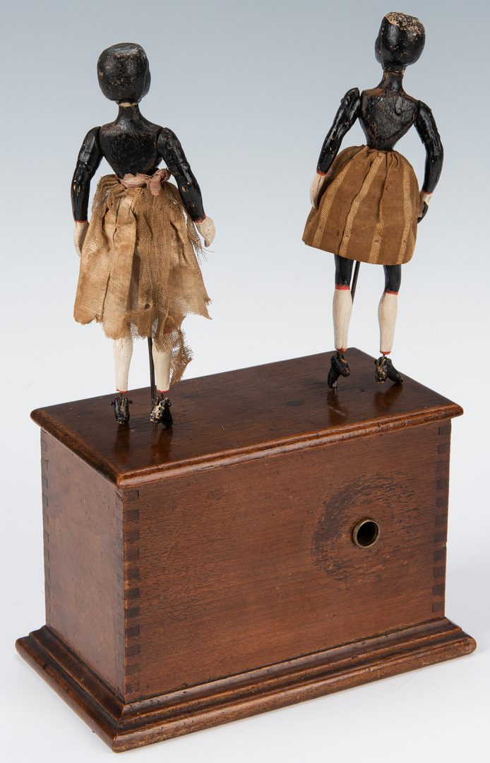 Lot 634: Black Americana Dancing Automaton
