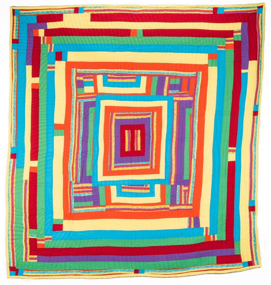 Lot 646: Gee's Bend Quilt, Bettie B. Seltzer