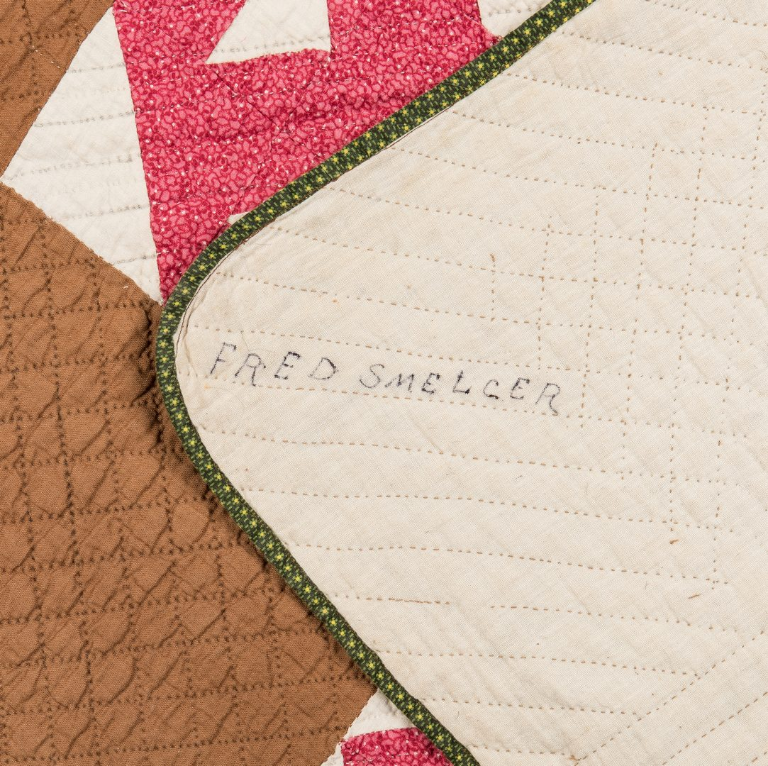 Lot 647: 2 Southern Pieced Quilts, Poss. TN