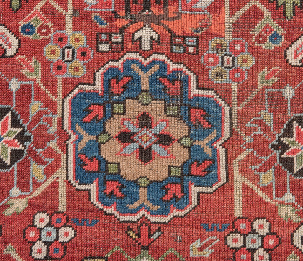 Lot 651: Antique Kuba East Caucasus area rug