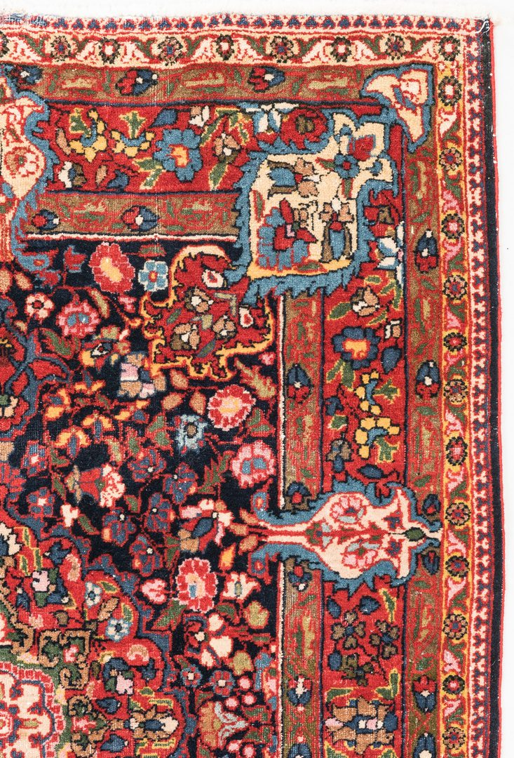 Lot 654: Antique Persian Bidjar 4.7 x 3.3