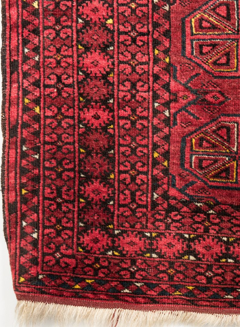 Lot 658: Turkoman Tekke Area Rug, 7' x 3'6""