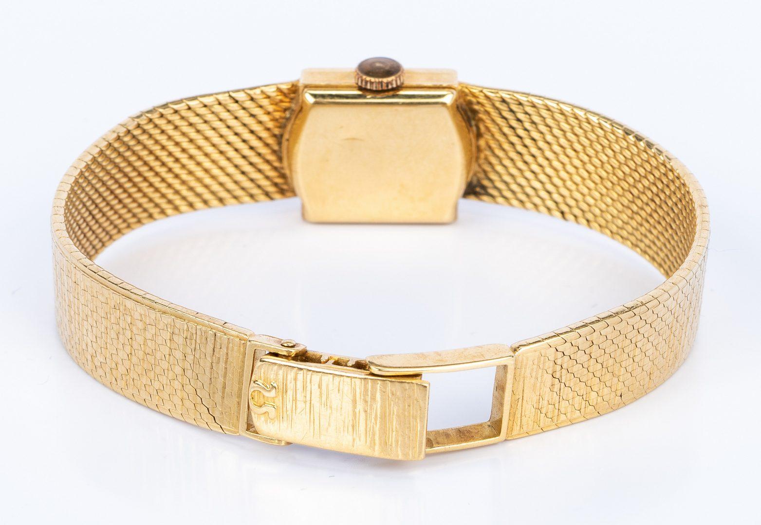 Lot 672: Lady's 18K Omega Dress Watch