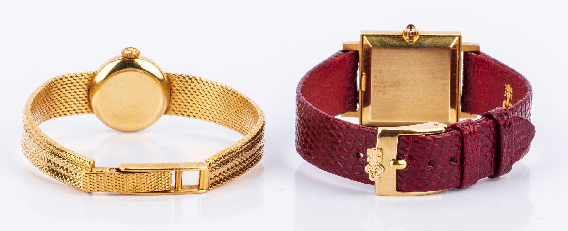 Lot 674: Corum 18K and Gubelin 18K watches