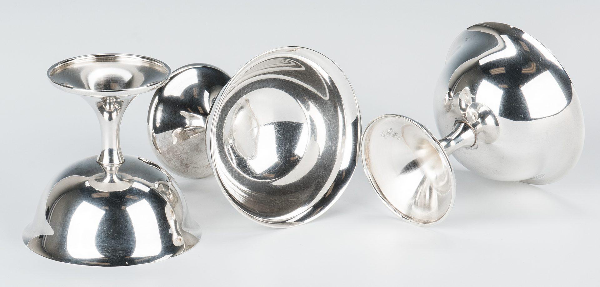 Lot 696: 12 Gorham Sterling Sherbet Goblets