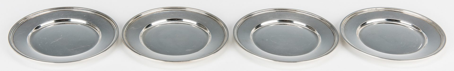 Lot 707: Tiffany & International Sterling Silver Plates