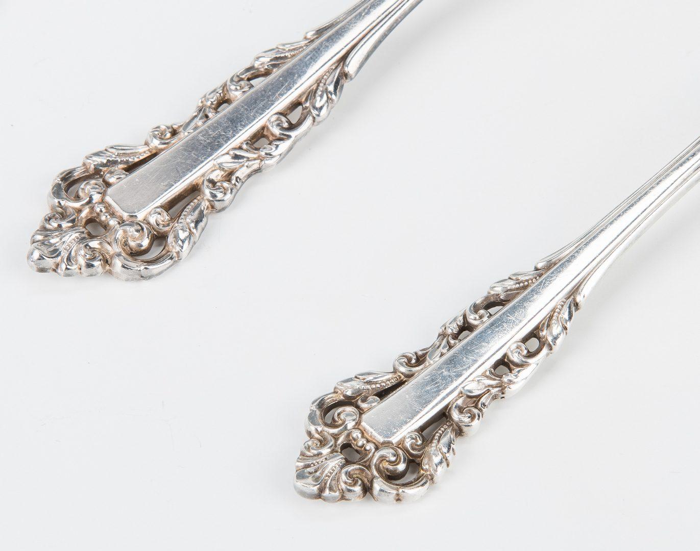 Lot 708: 43 pcs. Gorham Medici Sterling Silver Flatware