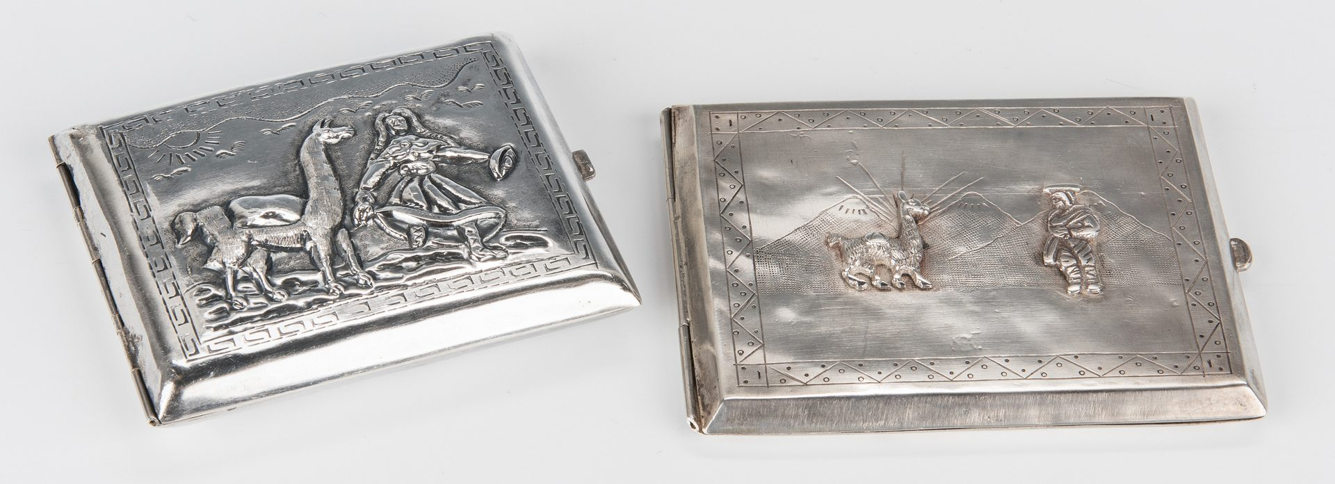 Lot 714: .925 Peruvian Sterling Group, 12 items