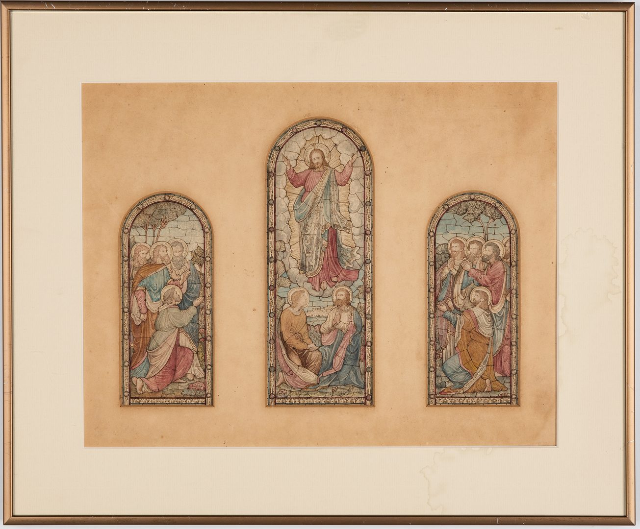 Lot 719: 2 Window Studies attr. Frank Tinney Johnson or Karl Reimann
