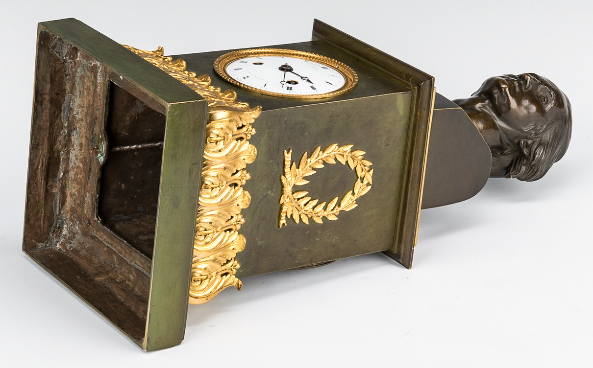Lot 71: George Washington Clock by Mallet