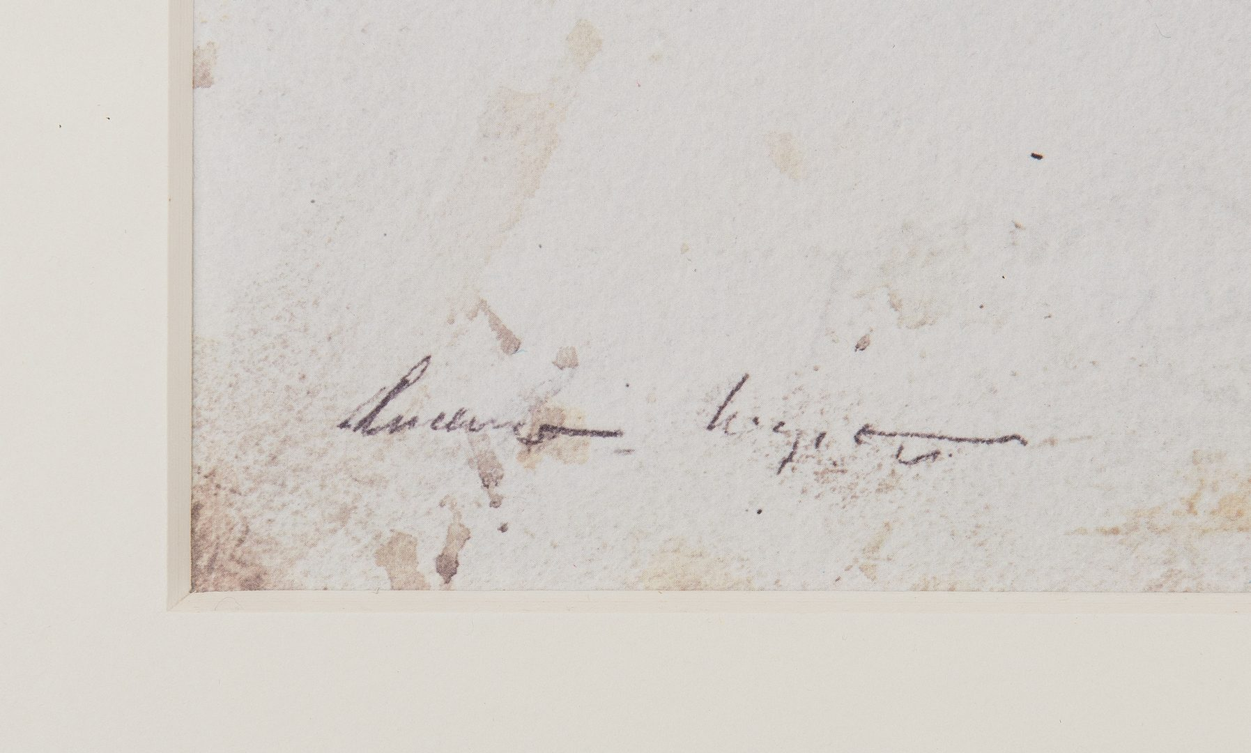 Lot 726: Andrew Wyeth Signed Print, North Light