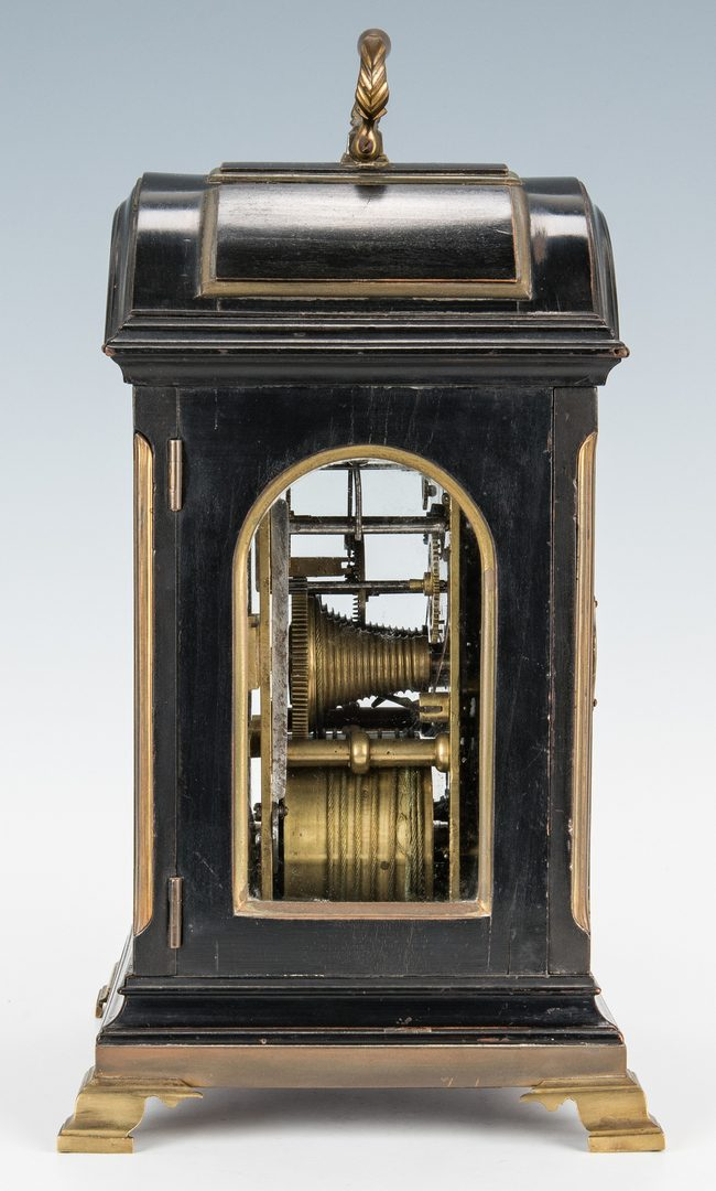 Lot 72: Geo. III Tregent Clock, ex-Clarence Mack, Palm Beach