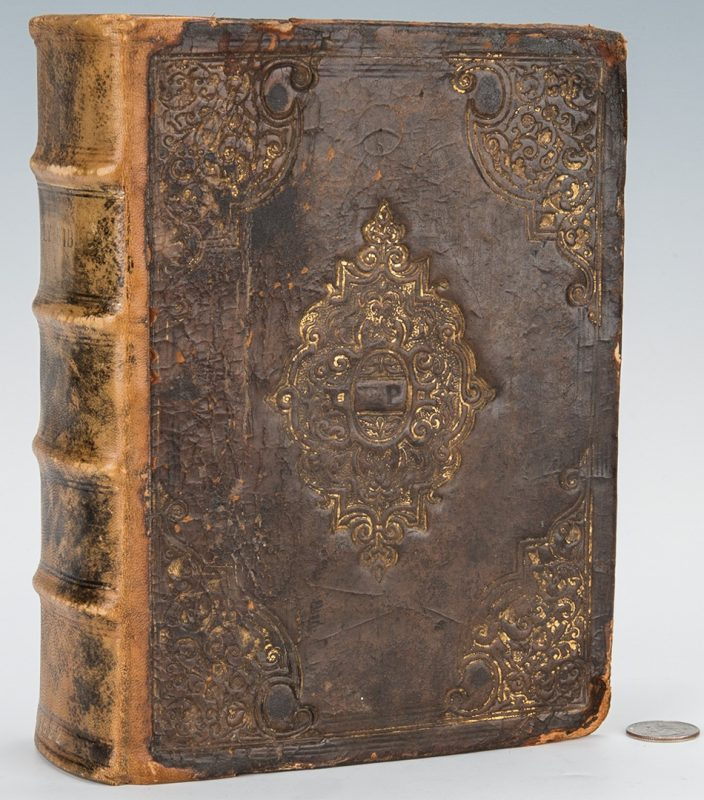 Lot 742: English Bible 1622-24, Norton & Bill