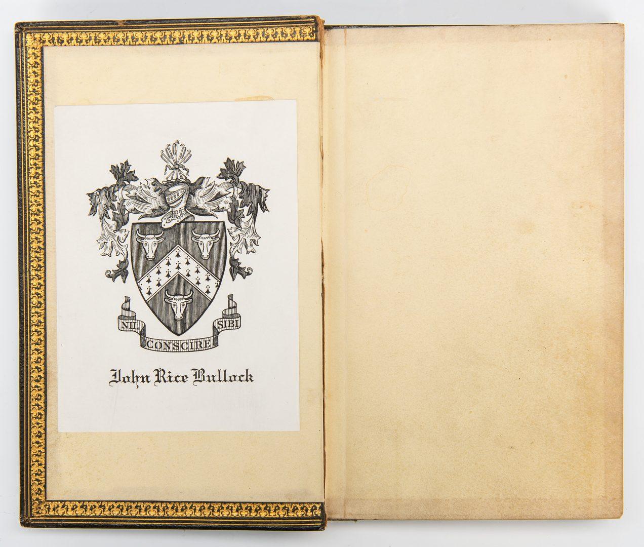 Lot 748: 2 Single Fore-Edge Painted Books, incl. Venn, Falconer