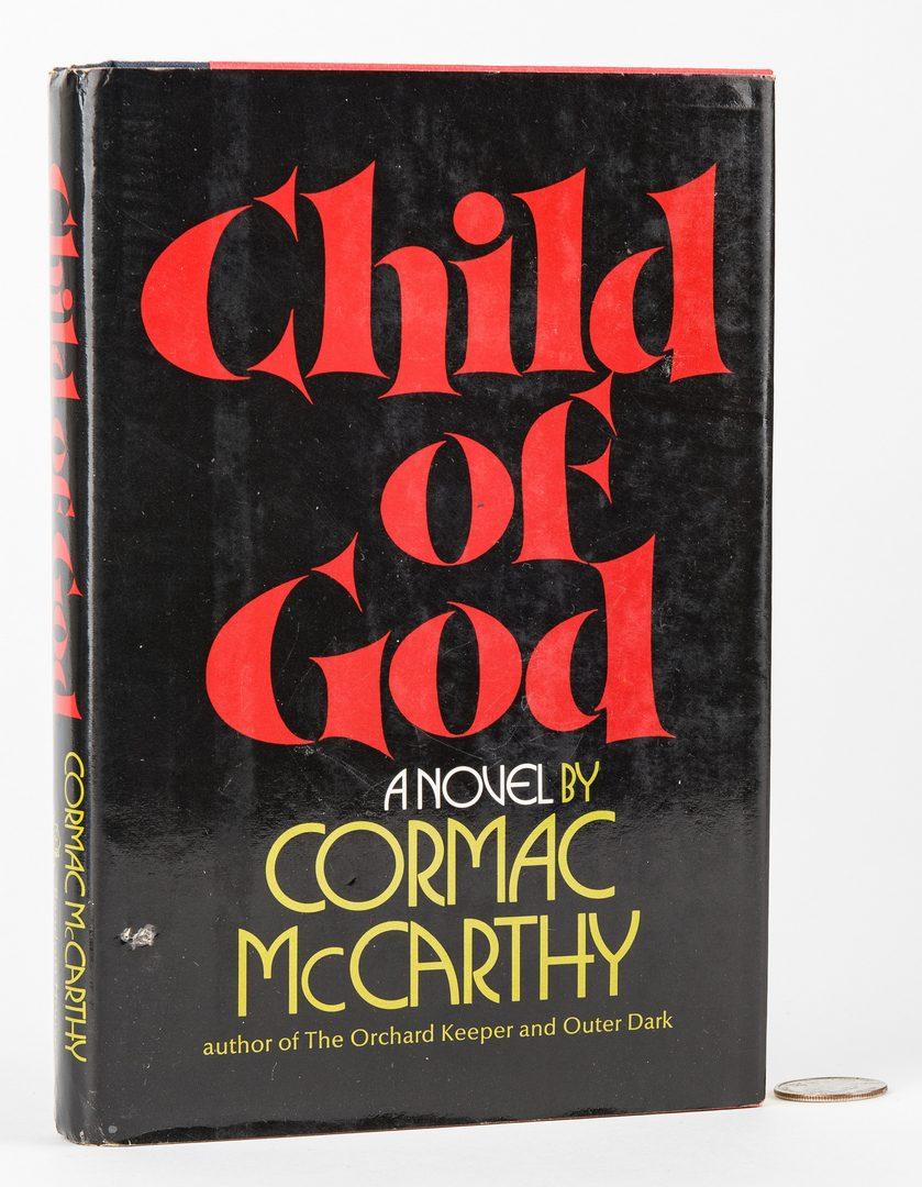 Lot 751: Cormack McCarthy, Child of God, 1st Ed., 1973