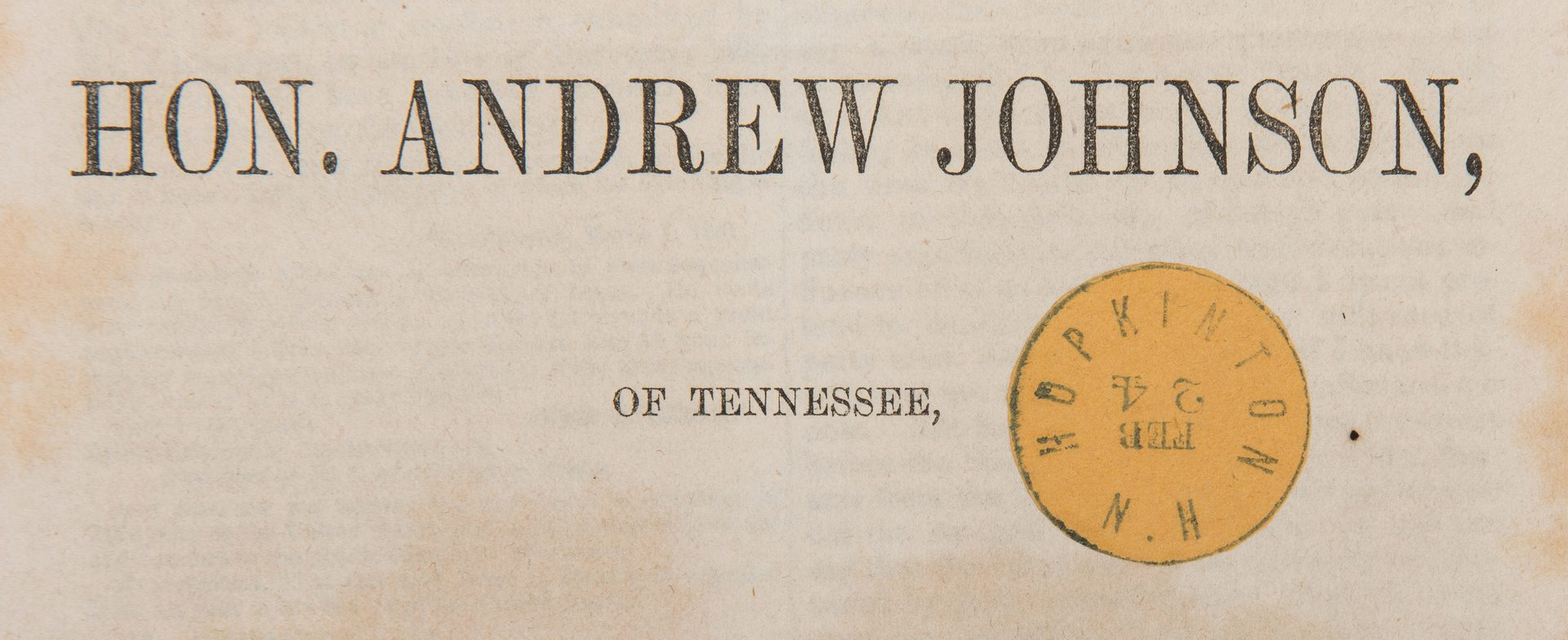 Lot 756: 6 US Senate Pubs., incl. President Jackson Nullification Crisis