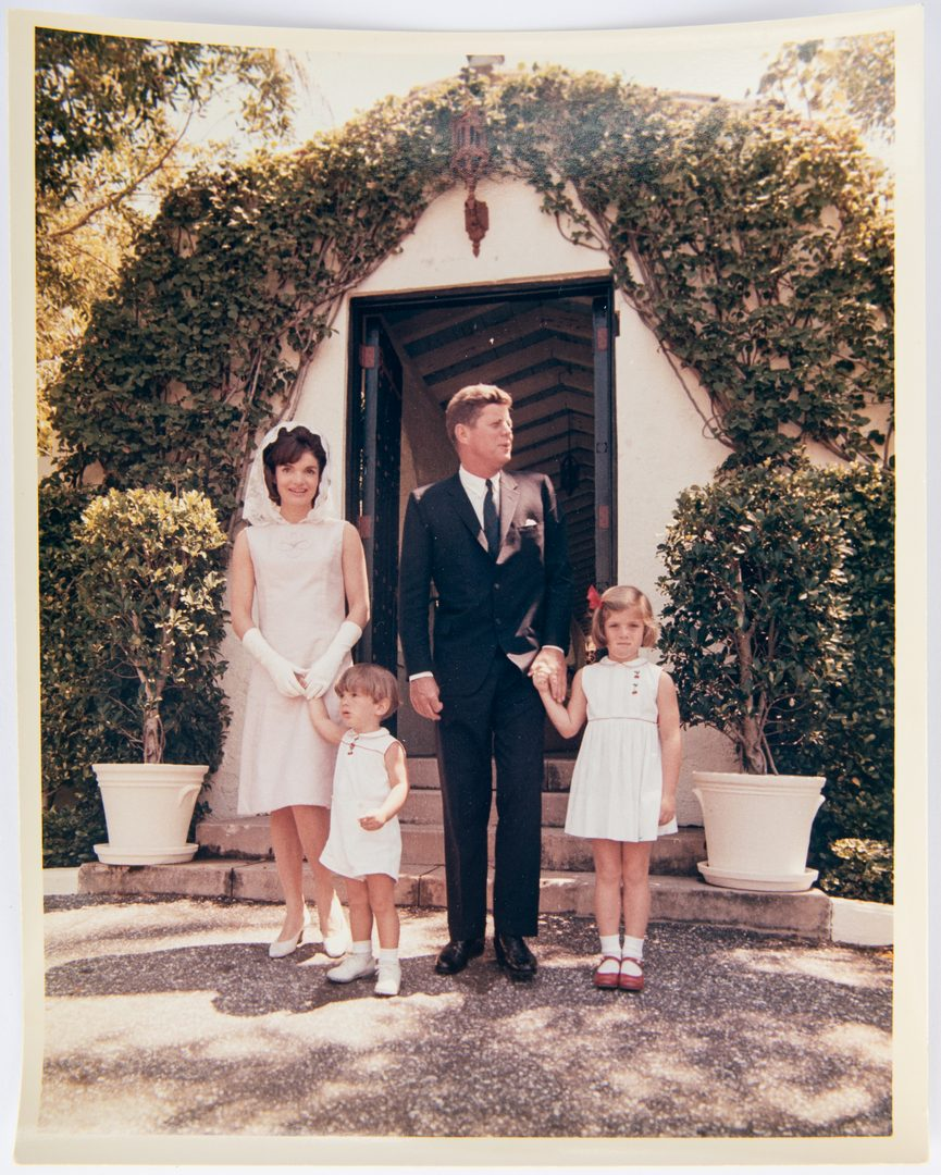 Lot 762: 20 JFK Family Photographs, incl. C. Stoughton