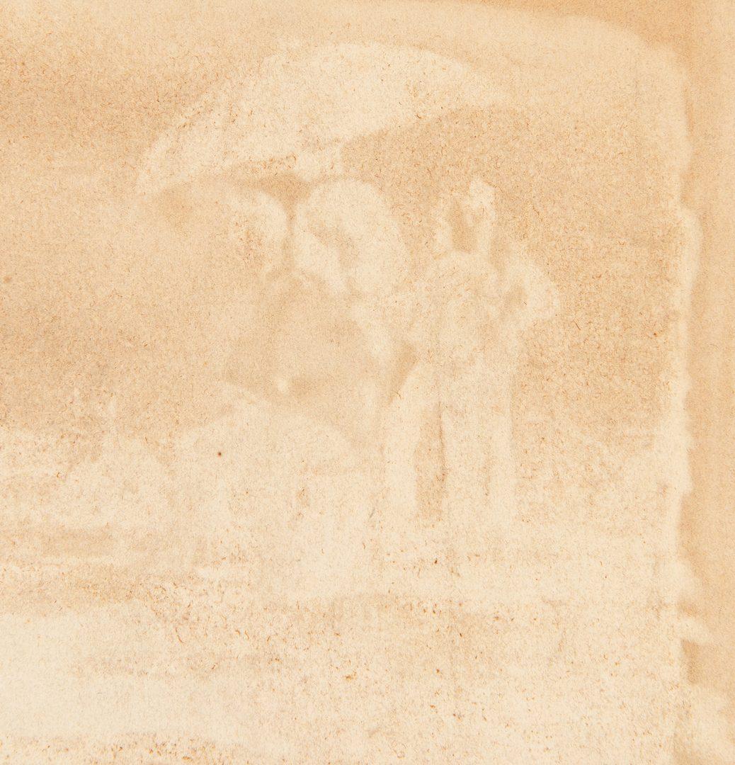 Lot 768: Horatio Gordon Robley watercolor, Wimbledon Shooting