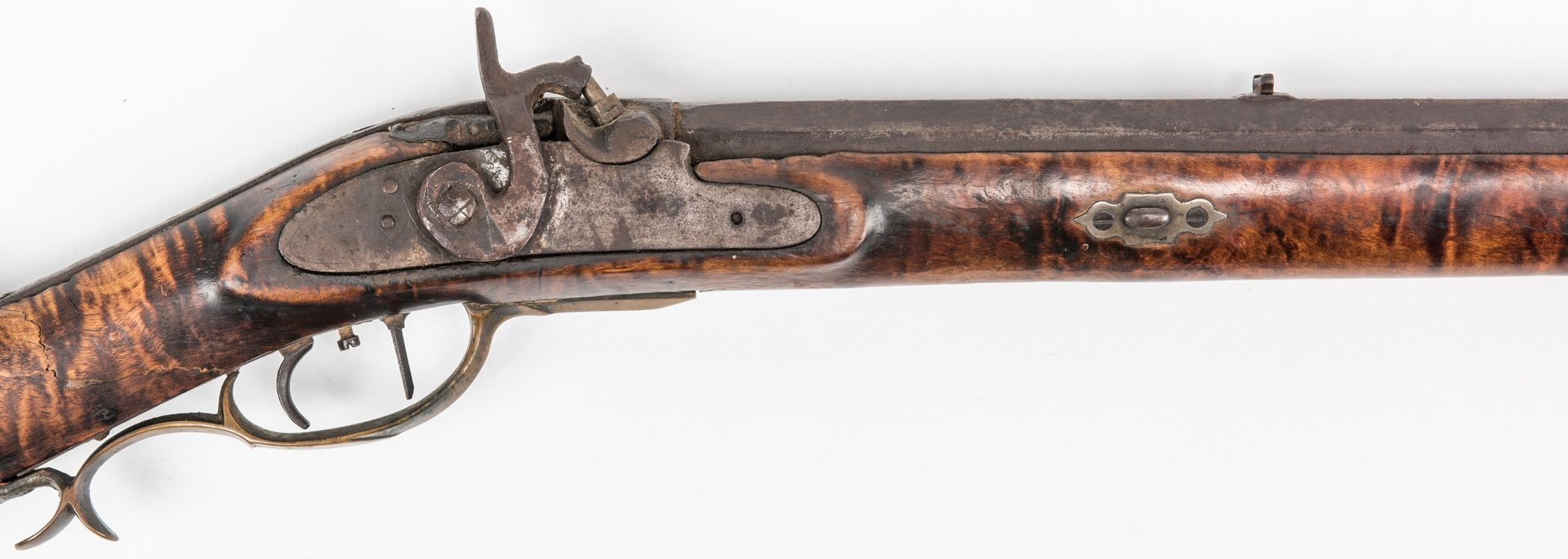 Lot 774: 2 KY Percussion Long Rifles, incl. Pruitt Brother