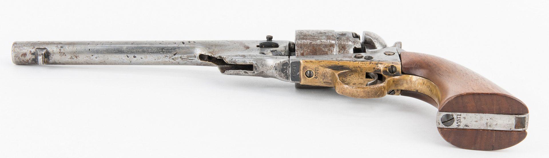 Lot 777: 2 Mid 19th Century Hand Guns, incl. Sharps, Colt