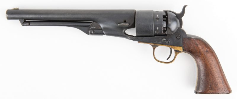 Lot 778: Mismatched Colt Model 1860 Army Revolver, .44 Caliber