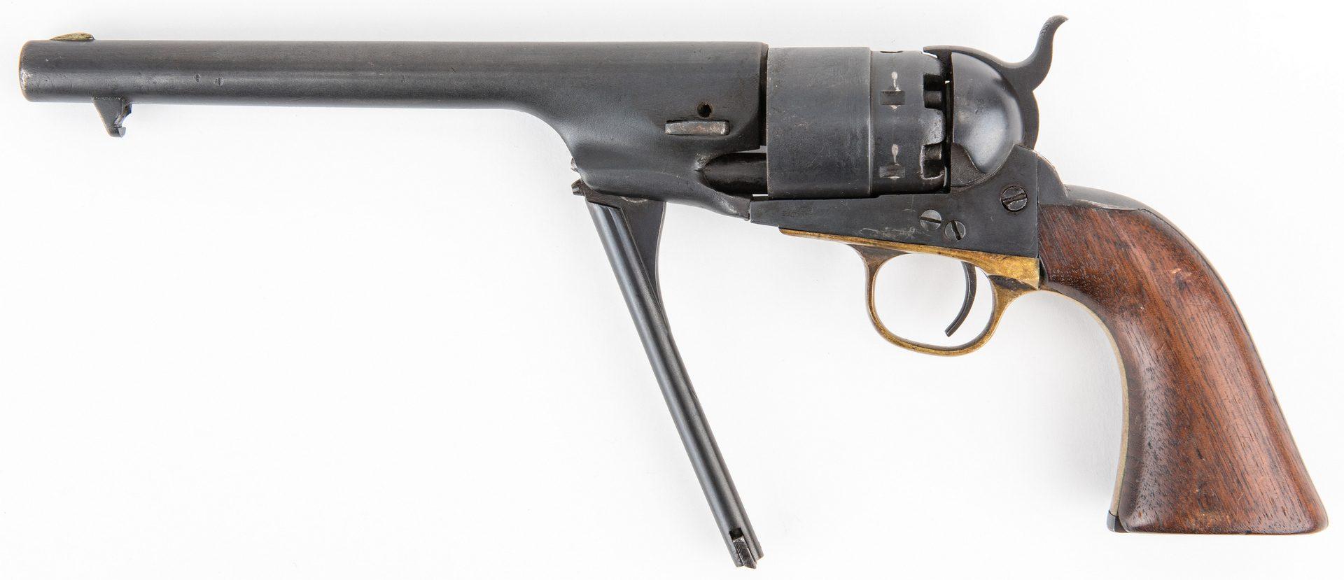 Lot 778: Mismatched Colt Model 1860 Army Revolver, .44 Caliber