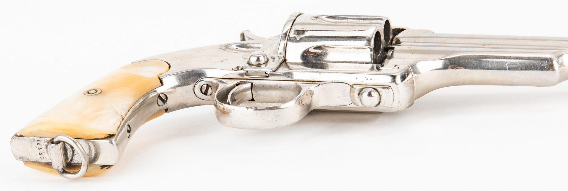 Lot 784: Merwin & Hulbert 3rd Model Frontier Army SA Revolver, .44-40 WCF
