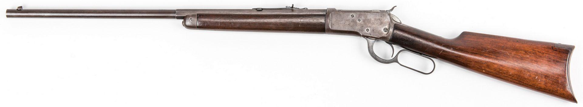 Lot 786: Model 1892 Winchester Rifle, .32 WCF. Octagonal Half Round Barrel