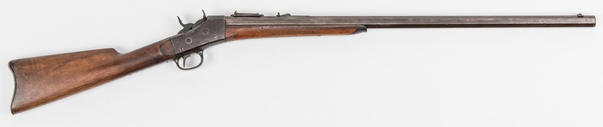 Lot 788 Remington Rolling Block Single Shot Rifle 42 Cal
