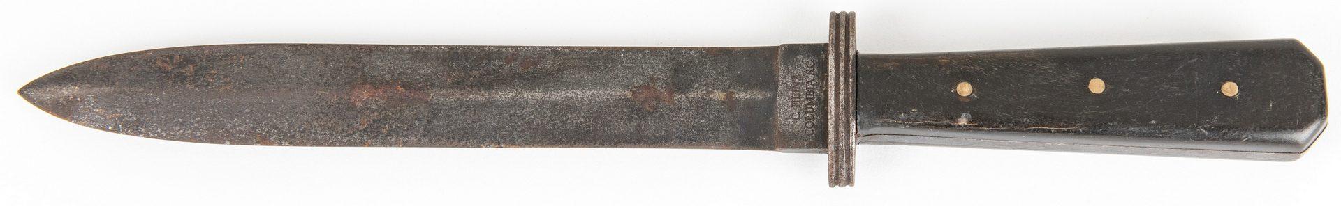 Lot 790: Three (3) 20th Century Reproduction CSA Style Knives