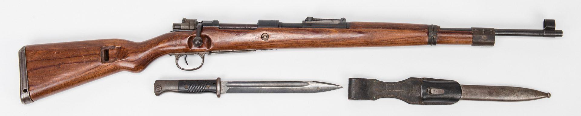 Lot 792: German Mauser Model 98 & German K98 Bayonet