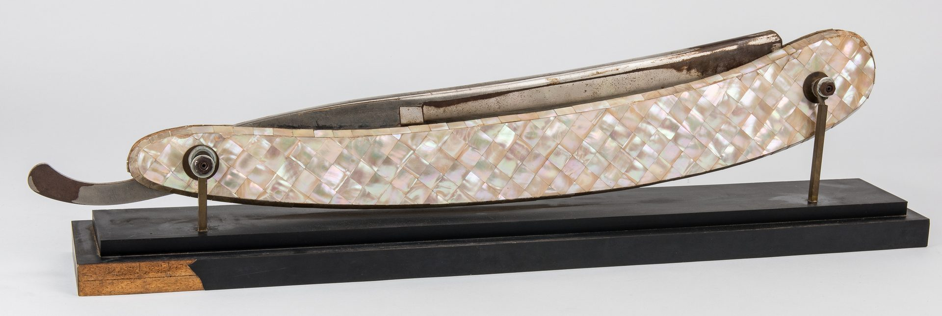 Lot 797: Barber Straight Razor Display or Advertising Sign