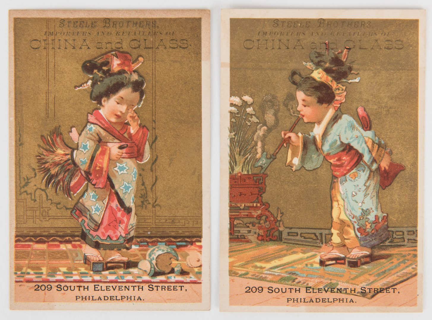 Lot 798: Collection of 784 Advertising Trade Cards