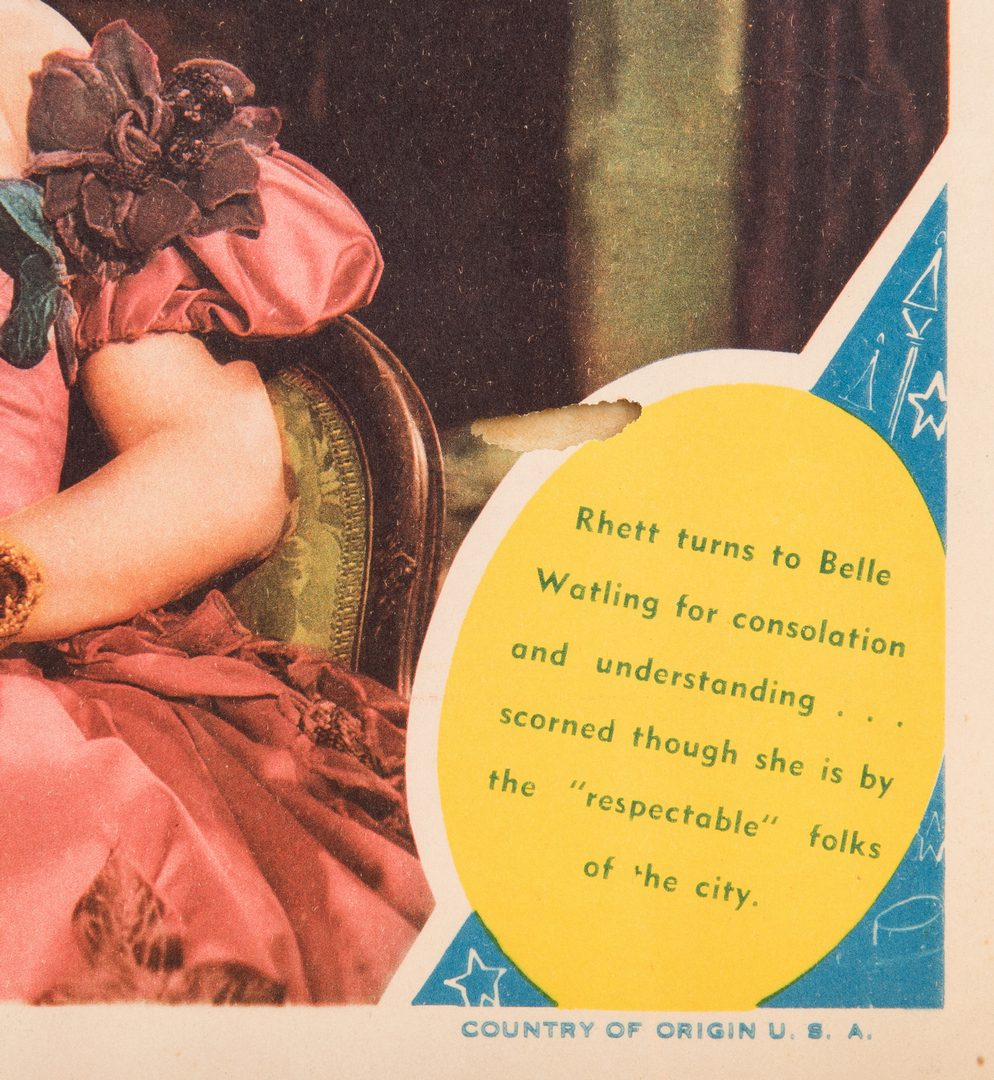 Lot 799: 3 Gone With the Wind Lobby Cards