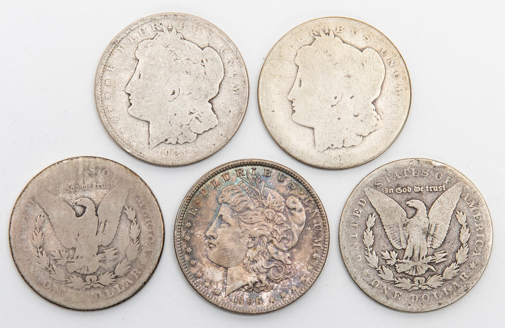 Lot 809: Collection of 2469 US Coins, incl. Silver