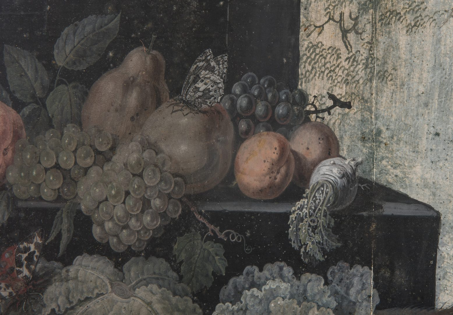 Lot 80: 2 Baroque Still Life Paintings