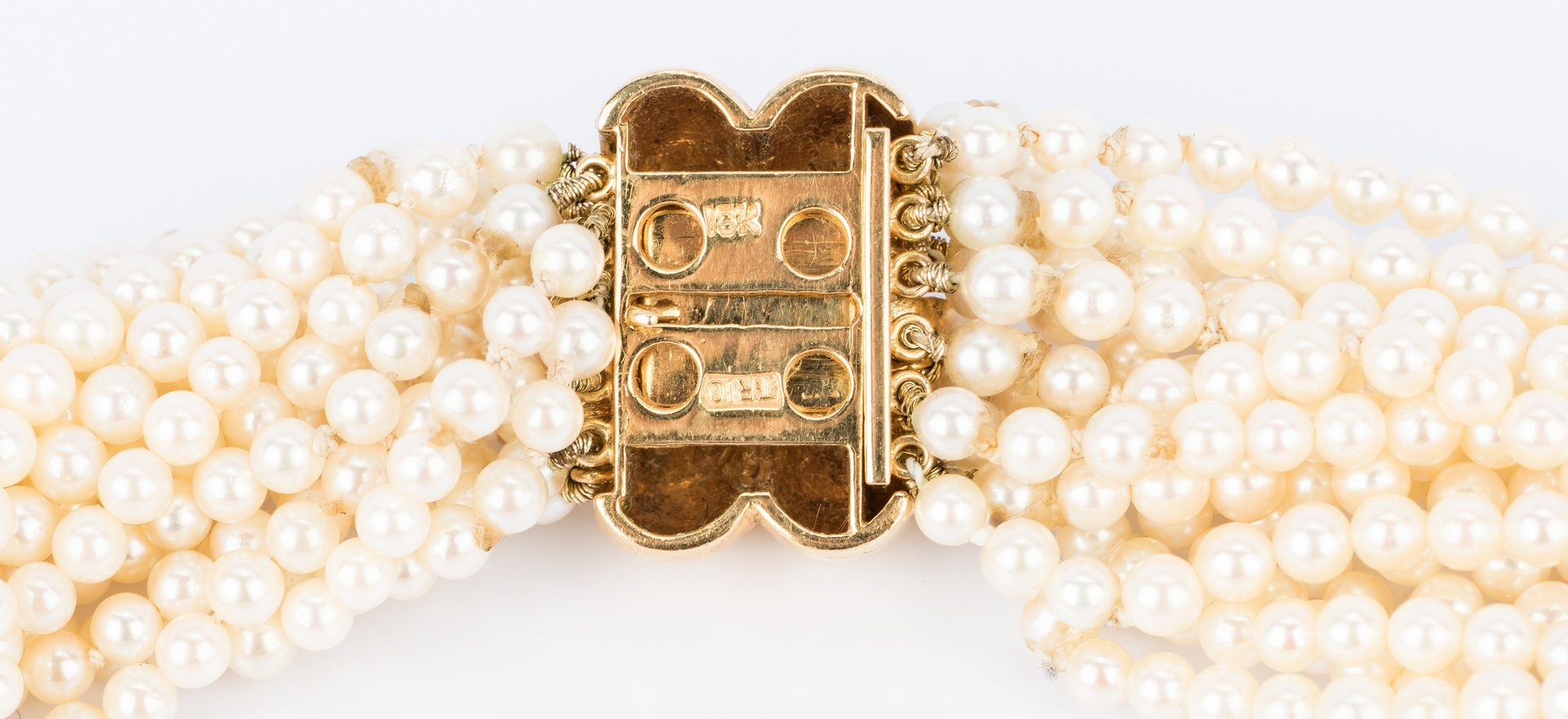 Lot 824: Group Gold and Pearl Jewelry