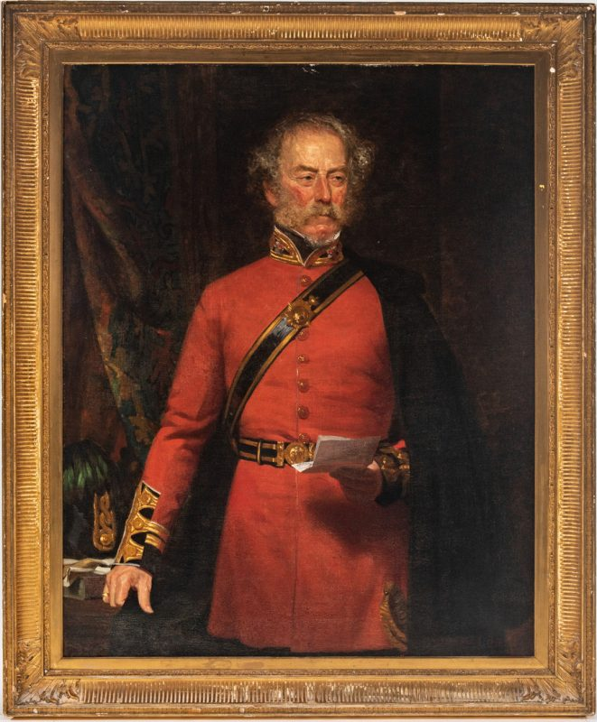 Lot 82: Norman MacBeth Portrait of a British Officer