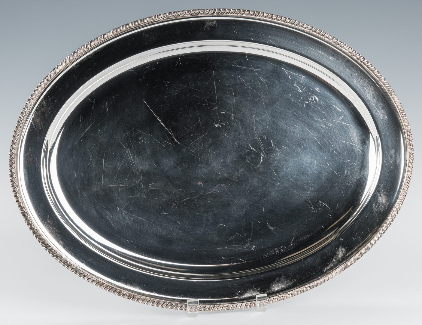 Lot 836: Boulton Sheffield Meat Dome & Plated Under Platter