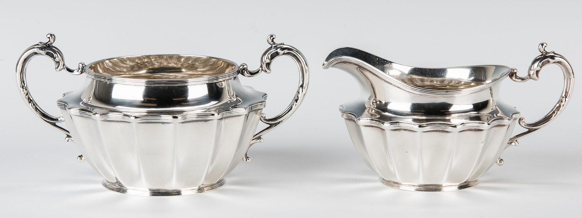 Lot 848: Frank W. Smith 4 pc. Sterling Tea Set