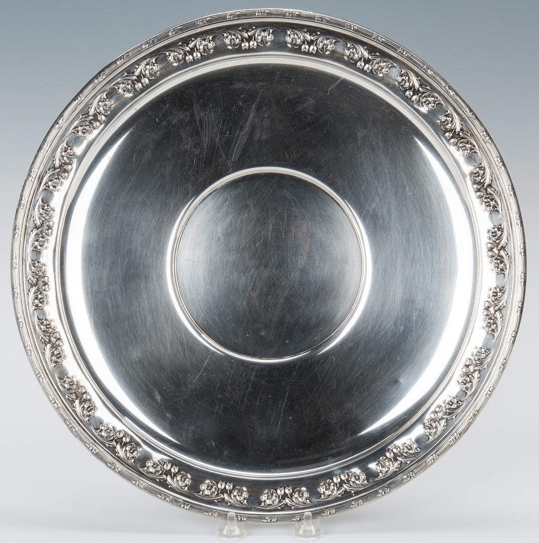 Lot 855: Ellmore Sterling Tray, McCord Provenance