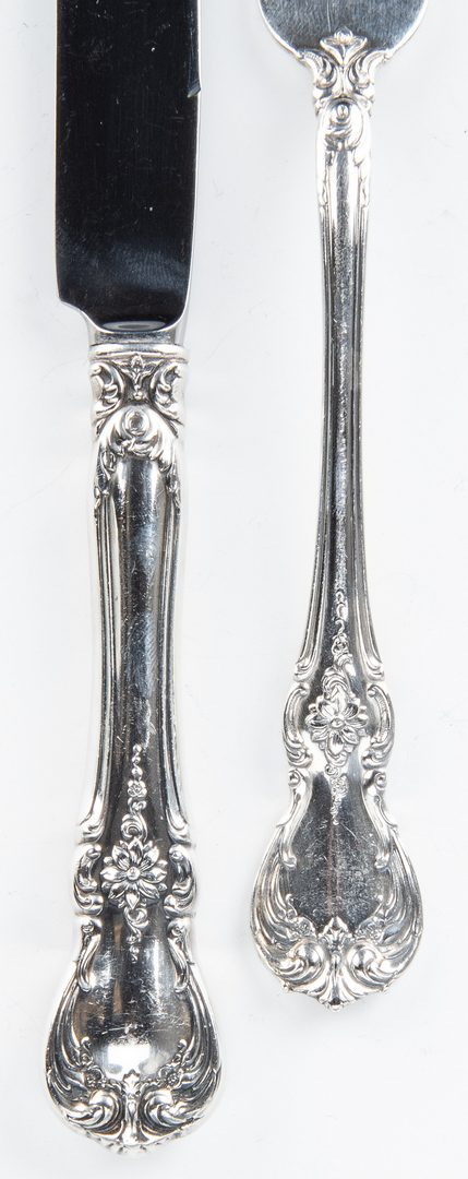 Lot 857: 36 pcs. Towle Old Master Sterling Flatware