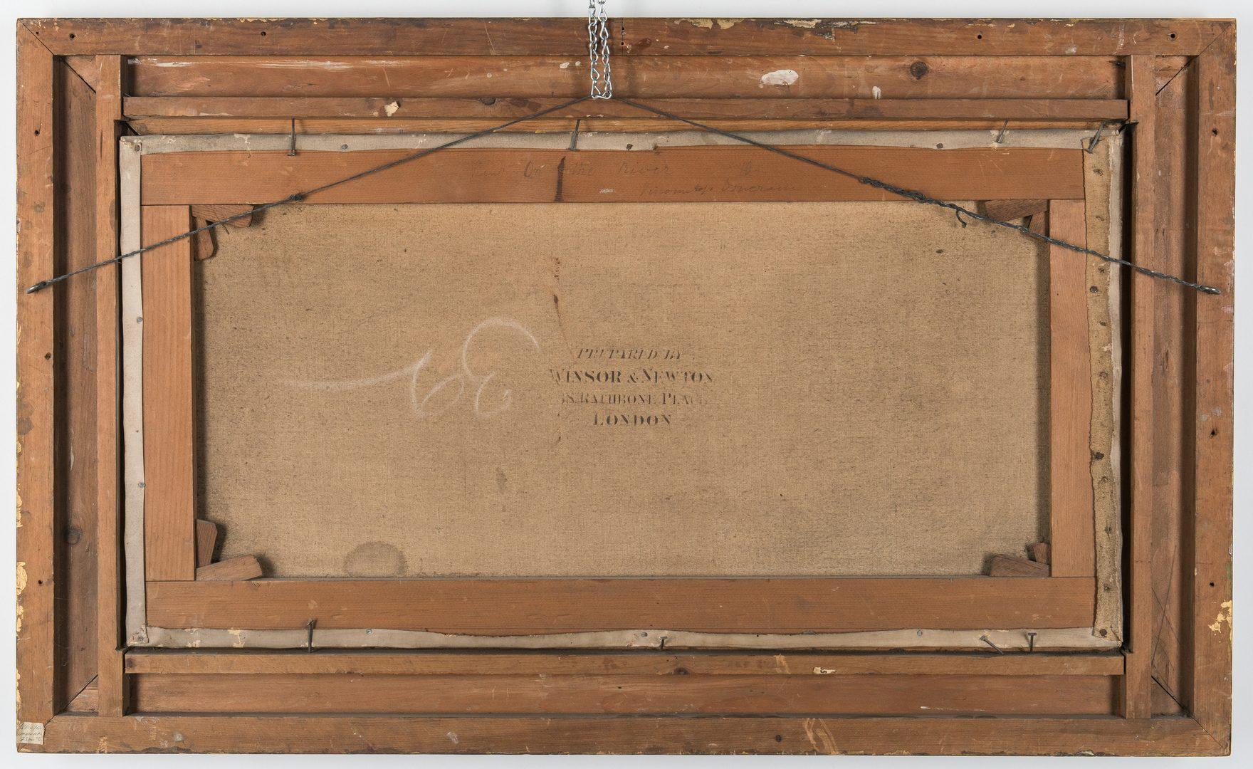 Lot 85: British 19th C. Landscape, Doneraile inscription